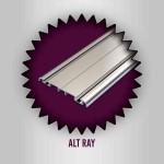 Özaslan Aluminyum ve Mobilya Aksesuarları Mobilya Profilleri Alt Ray