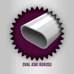 Özaslan Aluminyum ve Mobilya Aksesuarları Mobilya Profilleri Oval Askı Borusu