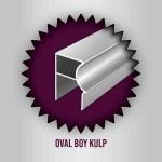 Özaslan Aluminyum ve Mobilya Aksesuarları Mobilya Profilleri Oval Boy Kulp