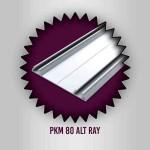 Özaslan Aluminyum ve Mobilya Aksesuarları Mobilya Profilleri PKM-80 Alt Ray