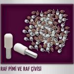 Özaslan Alüminyum ve Mobilya Aksesuarlari Raf pimi - Raf çivisi